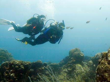 PADI Deep Diver Course, Belize