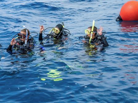 PADI Divemaster Course, Belize