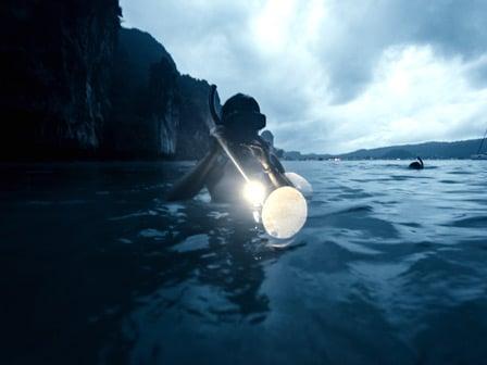 PADI Night Diver Course, Belize